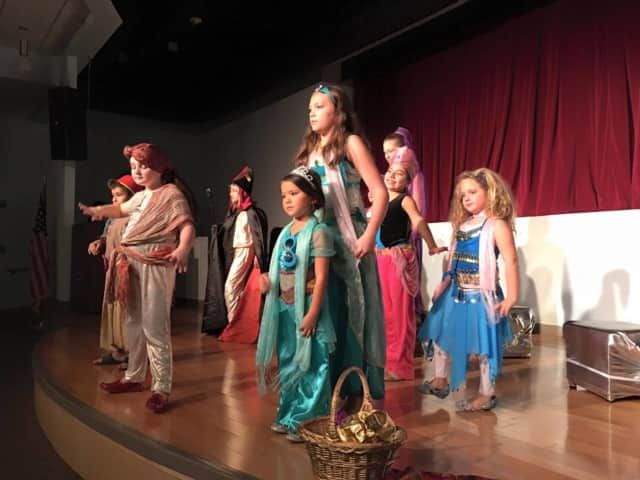 "Children participate in a musical theater workshop at Mike Risko Music in Ossining. Another workshop and the production of ""Sleeping Beauty Kids"" begins Jan. 19."