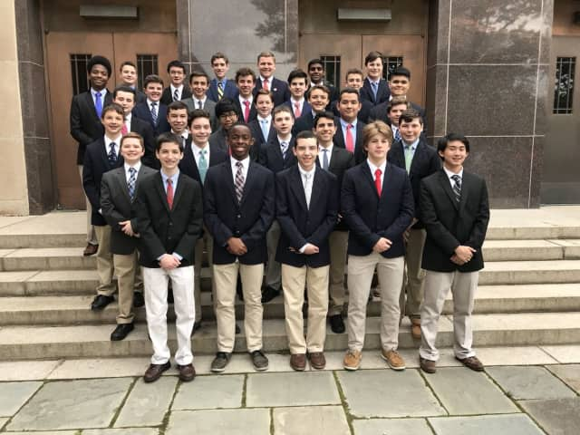 Archbishop Stepinac High School has inducted 33 academically high achieving students into the Honors Academy, the first-of-its-kind, small personalized learning