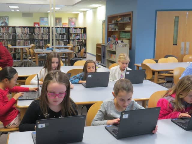 "Yorktown students take part in a global computer science initiative known as the ""Hour of Code."" They learned the basics of programming, but also discovered the importance of creativity, flexibility and tenacity."