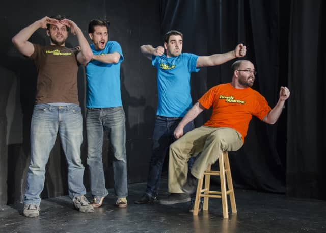 """""""Howdy Stranger"""" will bring an improv comedy show to Hackensack Saturday."""