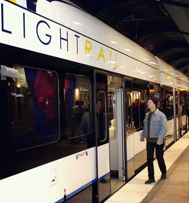 The public is welcomed to join April 24 hearings on extending the Hudson-Bergen Light Rail line to Englewood Hospital.