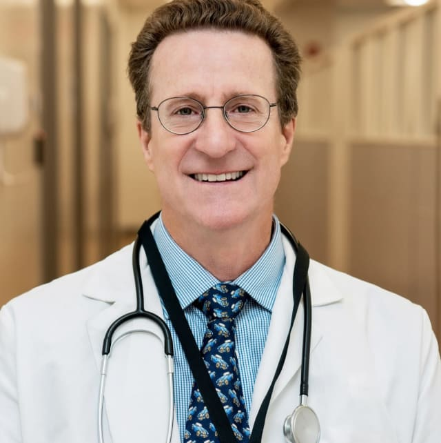 Dr. Douglas Hudson, an urgent care physician of HRHCare.