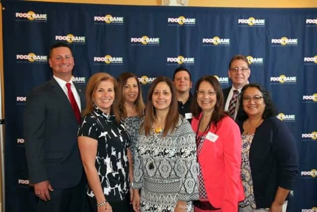 """The Elmsford school district was honored as """"Hunger Heroes"""" by the Food Bank of Westchester."""