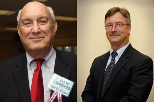 Monroe First Selectman candidates Dan Hunsberger and Steve Vavrek
