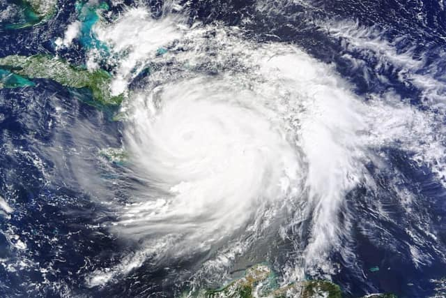 Hurricane Matthew struck Haiti on Tuesday as a Category 4 storm. It brought torrential rains and 145-mph winds to the island nation.