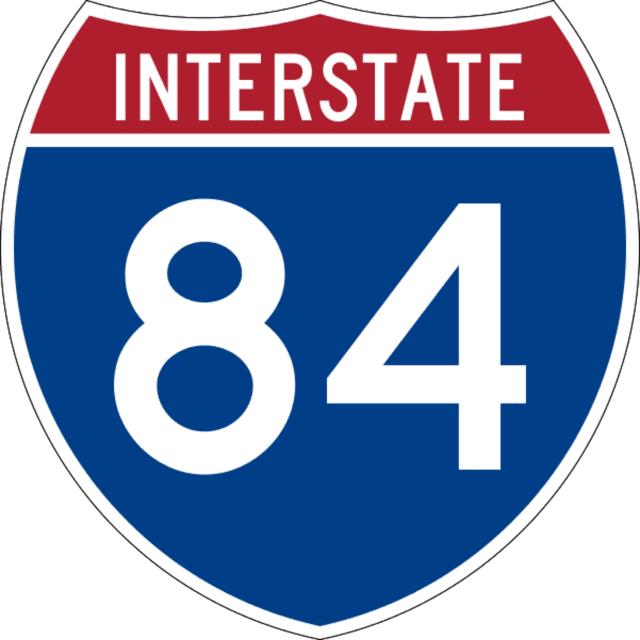 I-84 logo
