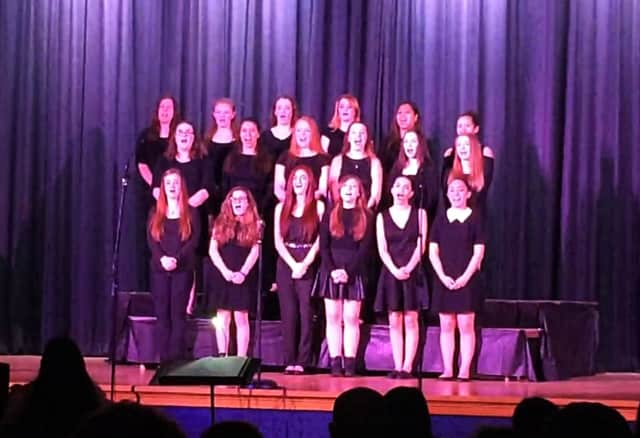 The Vocal Ensemble's recent performance received a standing ovation.