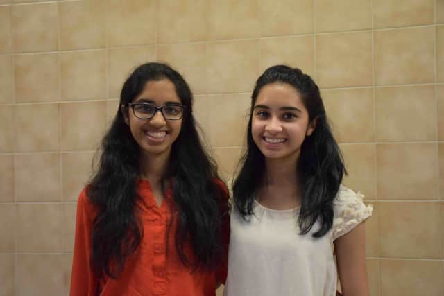 Fraternal twins Sweta and Swati Narayan are the valedictorian and salutatorian, respectively, for 2016 at Irvington High School.