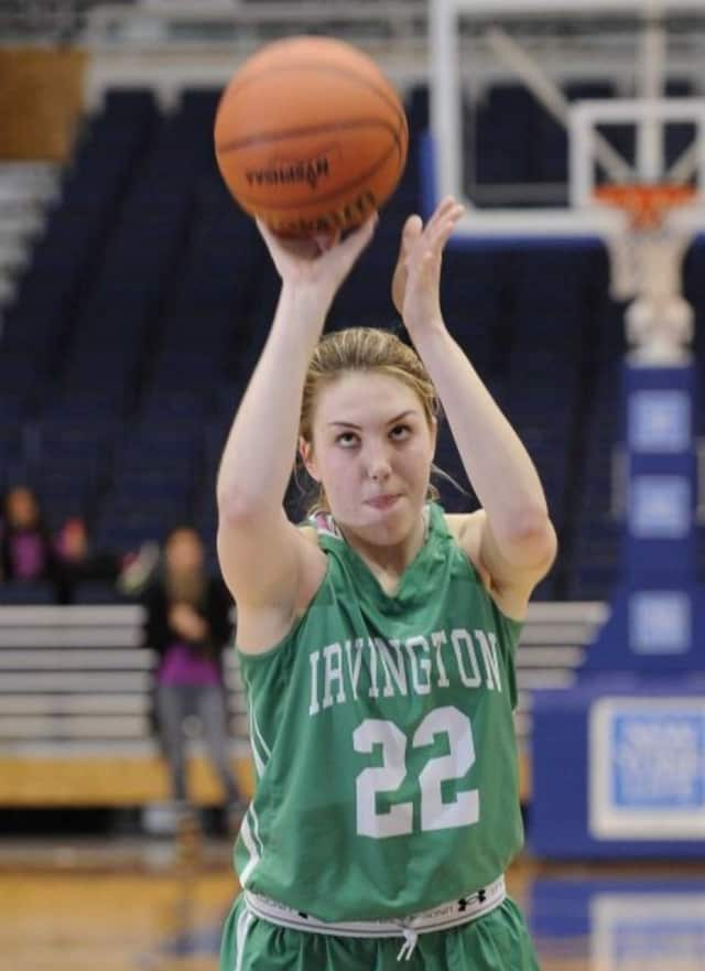 Irvington High School graduate Lexi Martins, who is a forward on the women's basketball team at Lehigh University, is leading the NCAA rankings in rebounds among other Division I athletes nationwide.