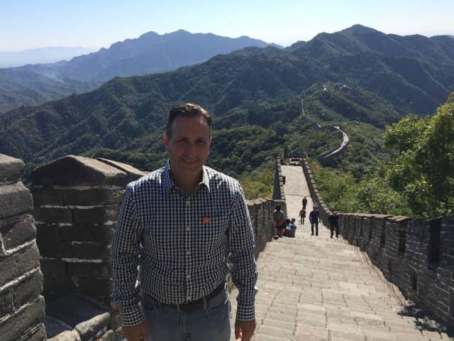 Senate Majority Leader Bob Duff recently visited China.