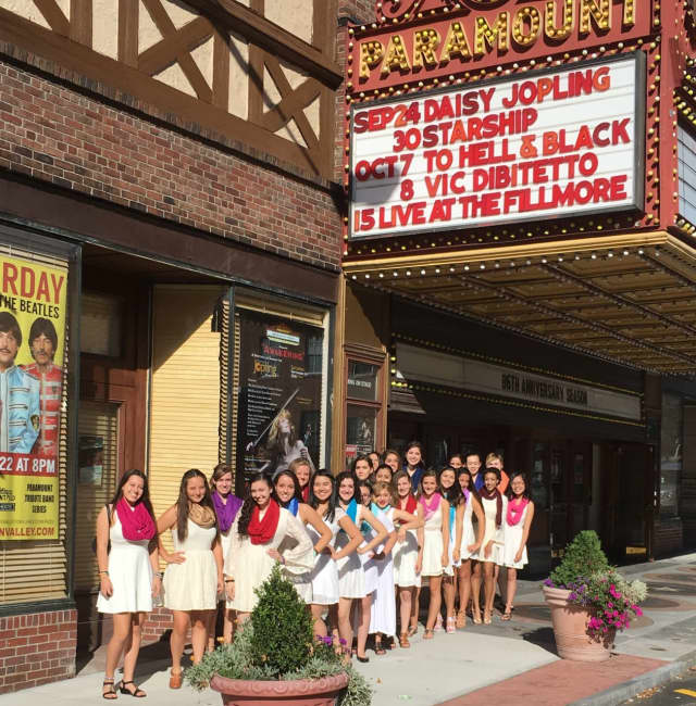The Treble Makers performed at Paramount Hudson Valley last week.