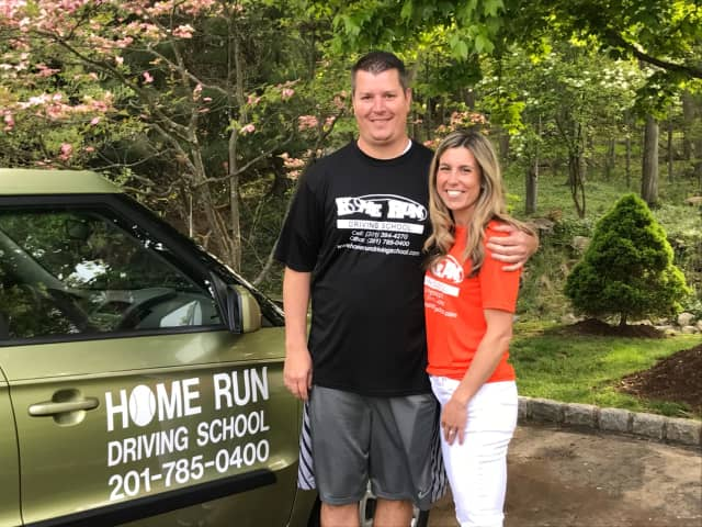 Mike and Michelle Branagh of Mahwah own Home Run Driving School.