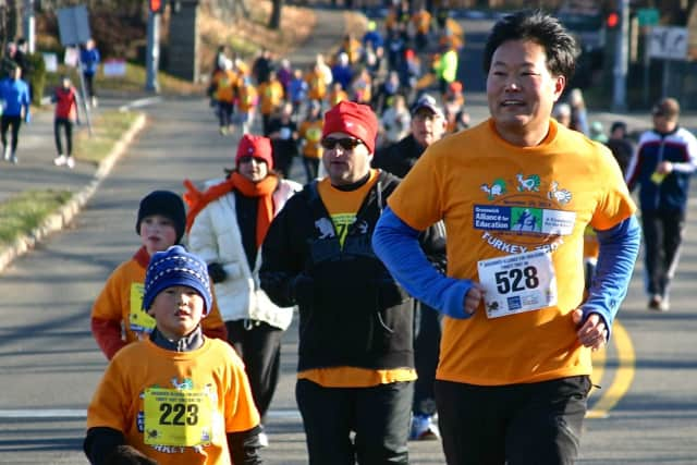 The 5K and 1-mile fun run are scheduled for two days after Thanksgiving.