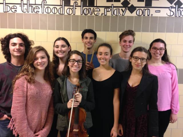 Nine Fox Lane High School students have been selected for All-State Music Ensembles.
