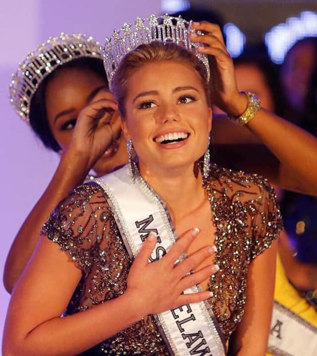 Alexandra Vorontsova will is competing in Miss USA Sunday.