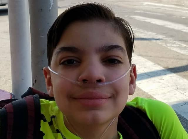 Jonathan is awaiting a lung transplant.
