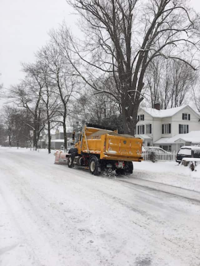 Danbury residents are reminded to keep cars off streets as the city braces for a severe winter storm on Thursday.