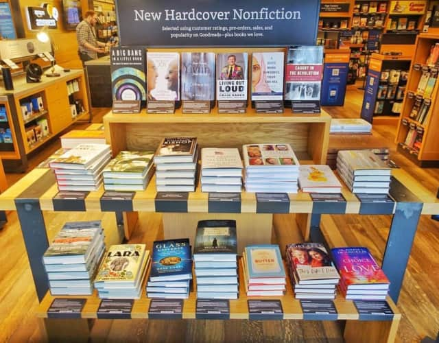 Amazon Books's first New Jersey store is in the Garden State Plaza in Paramus.