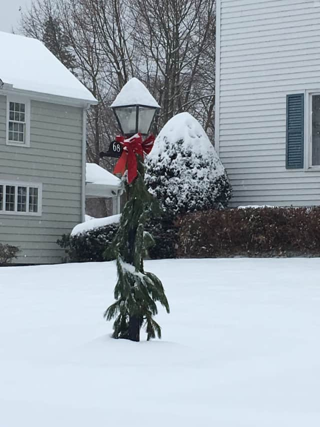 Fairfield County could see some snow before Christmas morning