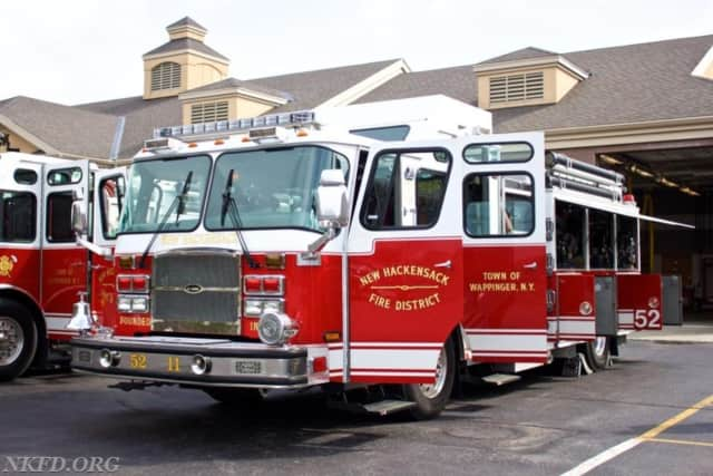 New Hackensack Fire Department officials are still investigating the cause of a blaze at a Wappingers Falls house Monday that critically injured one man and displaced other residents, The Poughkeepsie Journal says.