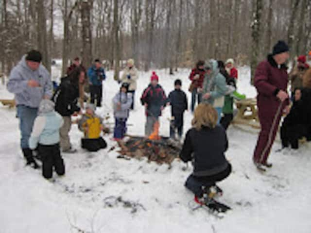 There isn't any snow, but the Shelton Trails Committee is going ahead with its annual Marshmallow March March 13.
