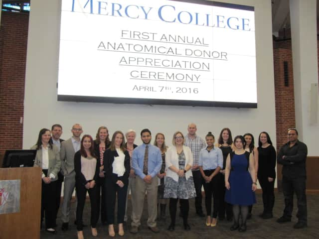 Mercy College will be honoring its anatomical donors at a ceremony next Tuesday.