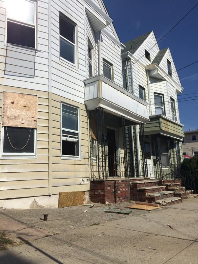 A fire broke out in an empty building on Sherman Street in Passaic Wednesday morning, Oct. 21.