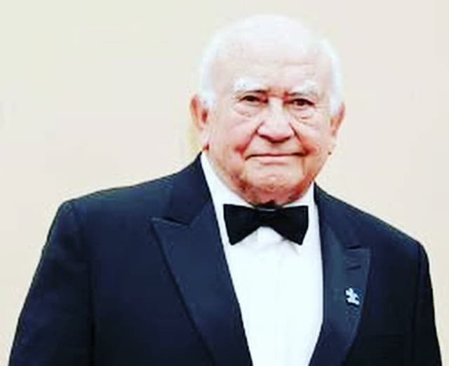 Ed Asner is coming to Ridgewood.