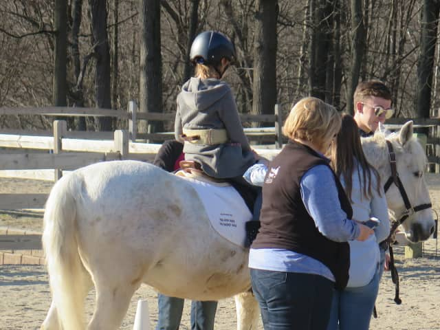 Foster children across Bergen County will receive therapeutic horseback riding lessons thanks to a $7,000 grant to Paramus' Children's Aid Family Services from the Ronald McDonald House.