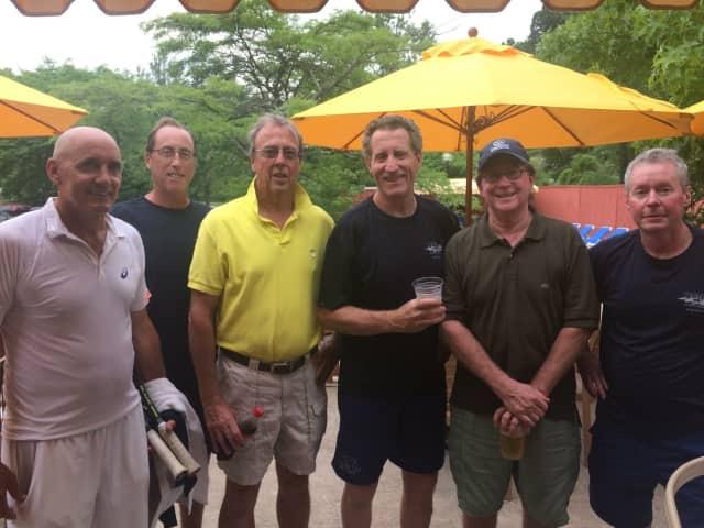 Left to Right: Chris Gilroy, Gregg Finn, John James, Charles Lacy-Thompson, Kevin Kane, Bob Bull.