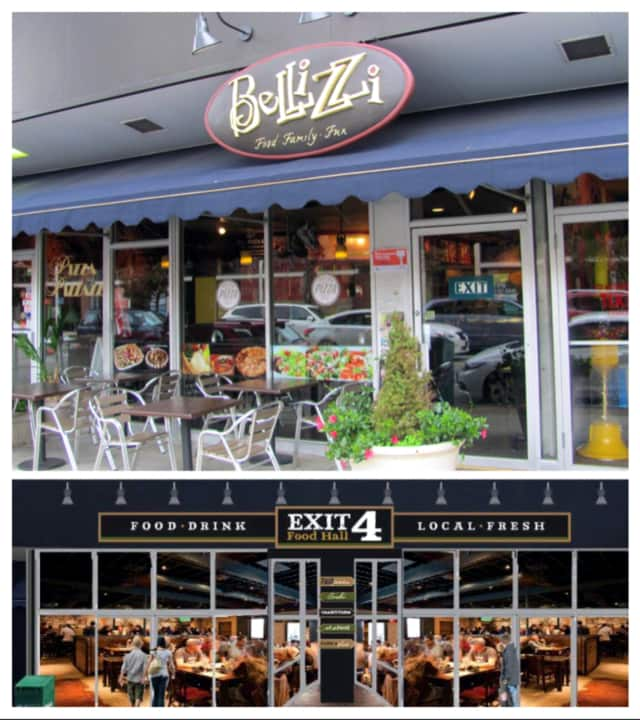 Mount Kisco restaurant Bellizzi is closing, and Exit 4 Food Hall will open in its place.