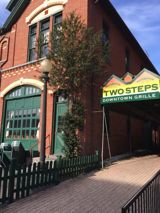 Two Steps Downtown Grille in Danbury could be home to off track betting.