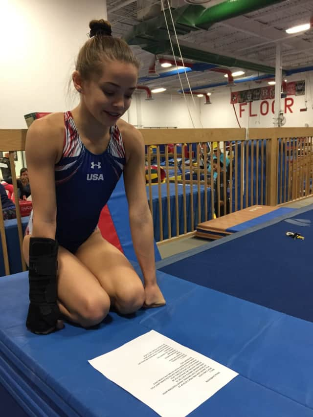 New Jersey gymnasts can return to training.