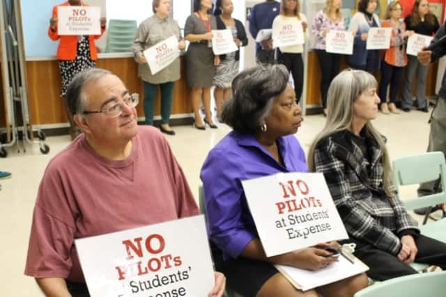 Mount Vernon school officials and residents alike have been against the authorization of PILOT agreements, which offer a financial incentive for developers that may hinder the district.