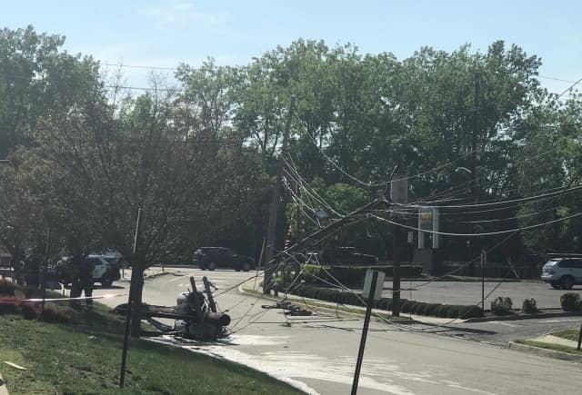 Several Hackensack businesses remain without power Thursday.