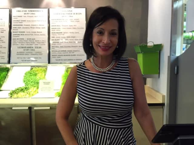 Moshira Soliman, owner of Pureganic Cafe.