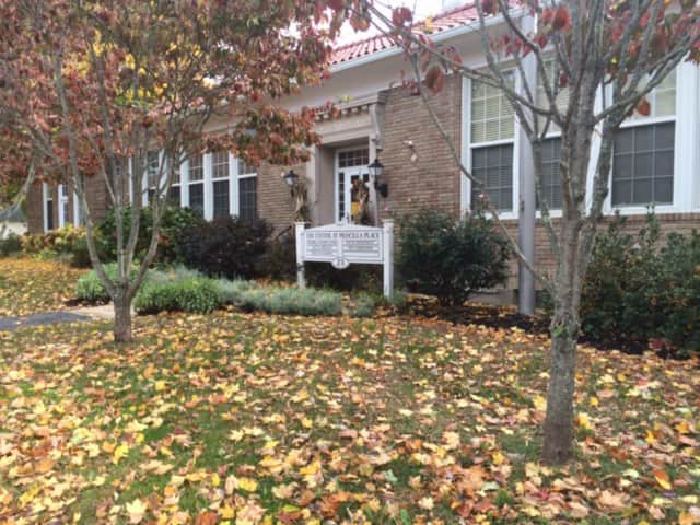 The Trumbull Senior Center at 23 Priscilla Place.