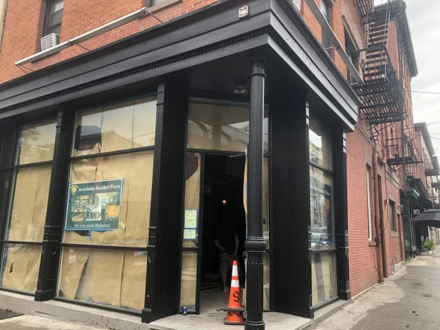 Artichoke Basille's Pizza is shooting for an August opening in Hoboken.