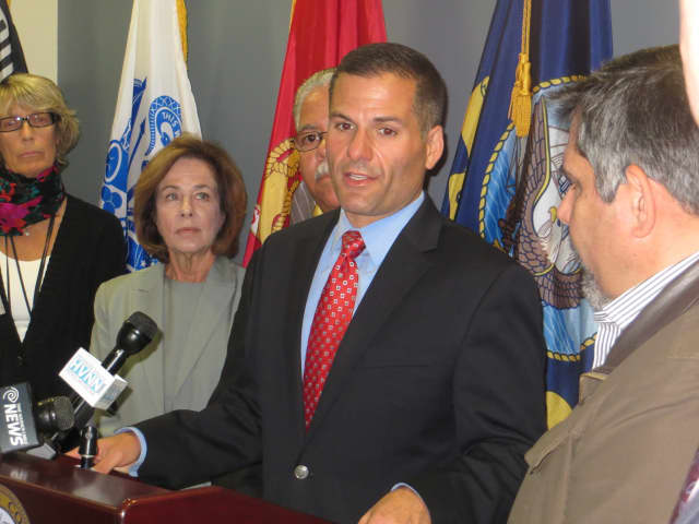 Dutchess County Executive Marc Molinaro, on Wednesday, offered thanks for the county's first responders.