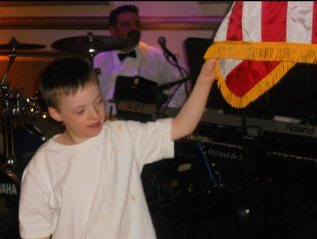 Devon Coyte at a West Milford Elks Charity Ball.
