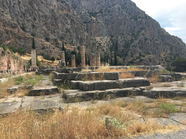 Tourists still flock to the Temple of Apollo at Delphi, whose famed Oracle offered general predictions of the future that could not be discredited.