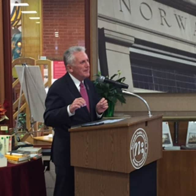 Norwalk Mayor Harry Rilling