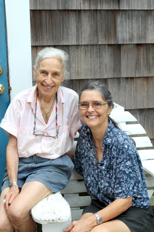 Selma Miriam, left, and Noel Furie. Courtesy Bloodroot.