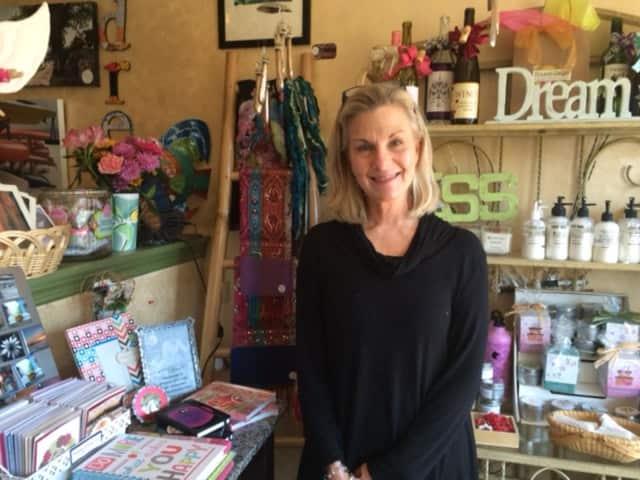 Owner Lib DeNure at Hazel Daze in Fairfield