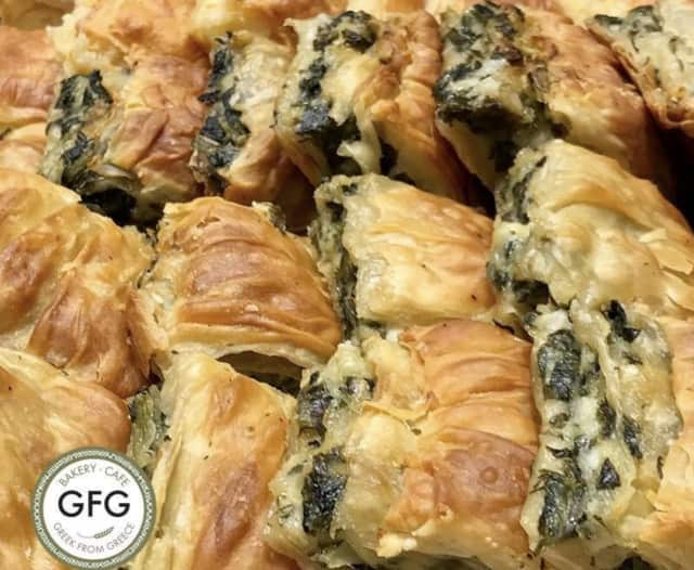 Greek from Greece features an extensive menu of traditional Greek food.