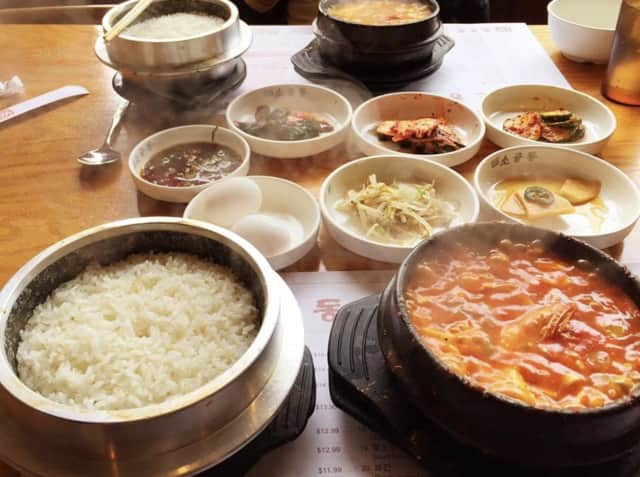 SGD Dubu offers Korean cuisine.