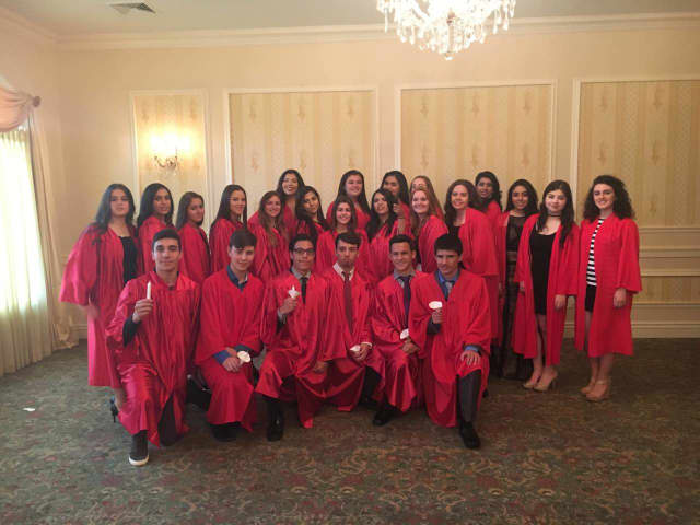 The newest members of Cliffside Park High School National Honor Society.