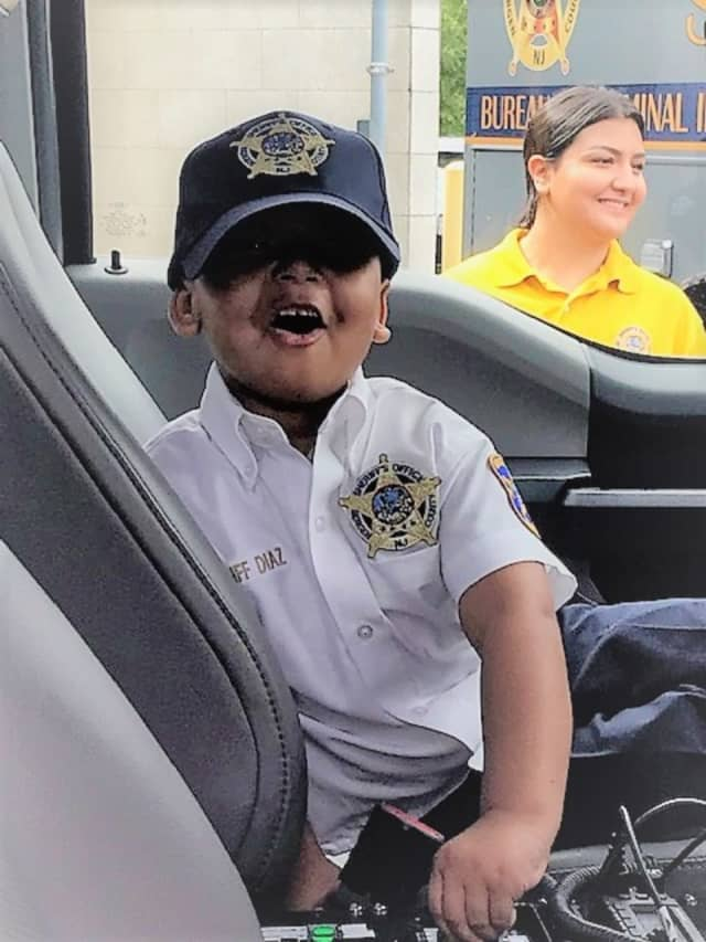 """""""Sheriff For A Day"""" Parker Chase Diaz"""