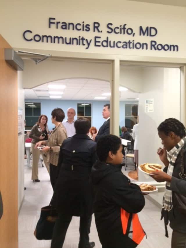 The Francis R. Scifo, M.D. Community Education Room