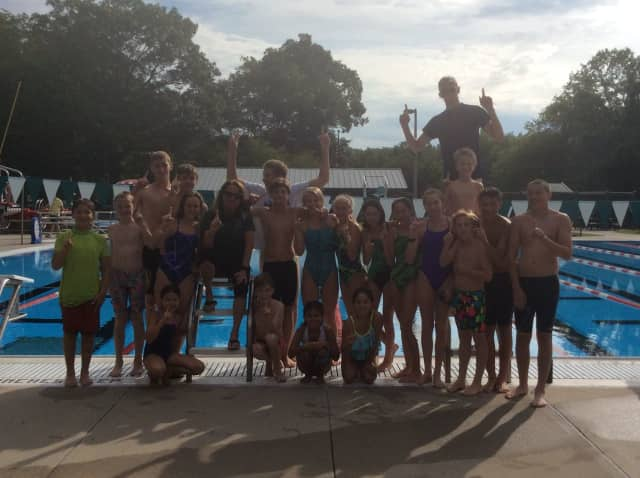 The Yorktown Swim and Dive Team.